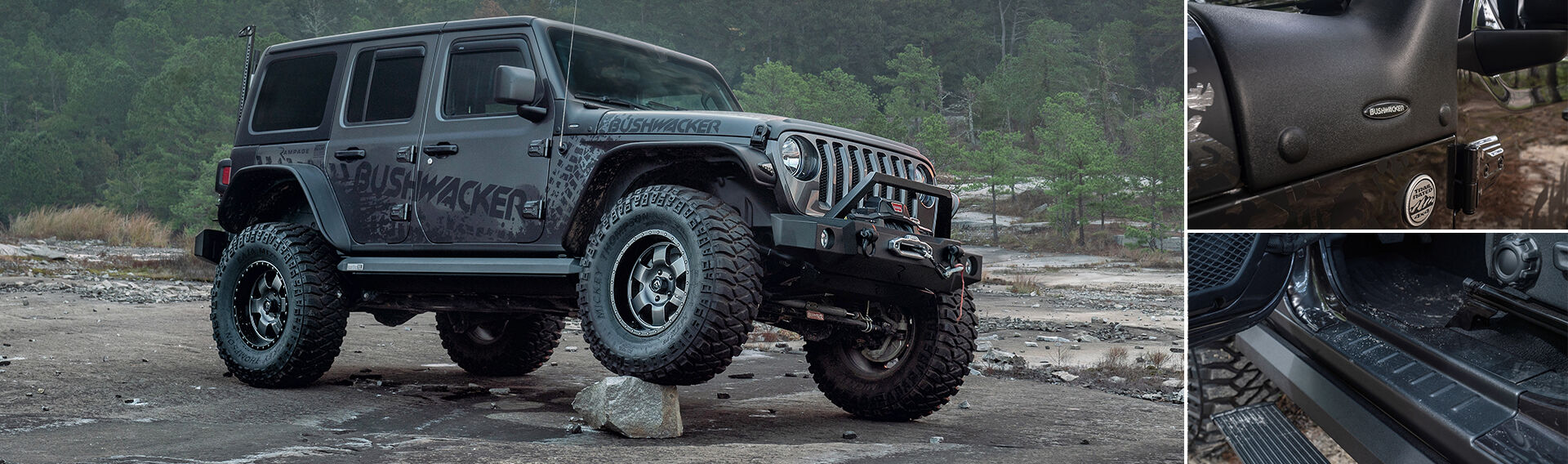 Gear Up Flat Style Fender Flares and Trail Armor SHOP NOW