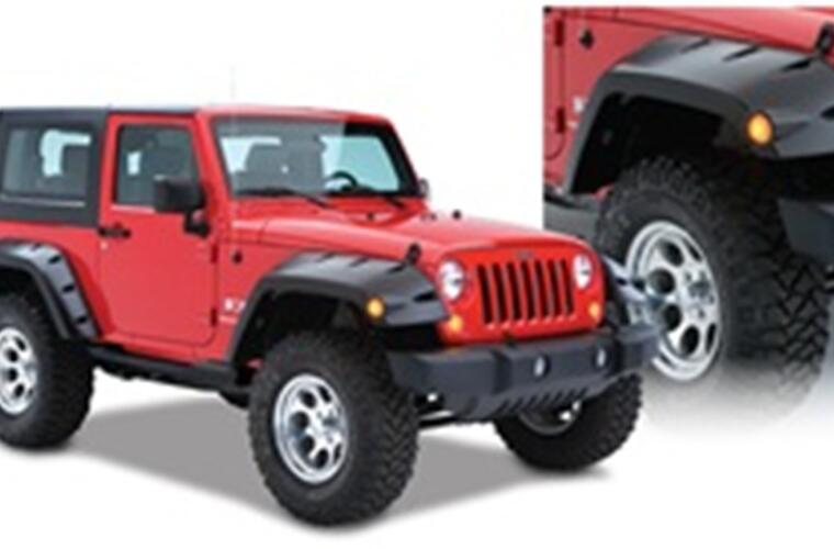 Fender Flares Max Pocket Style 2Pc Front