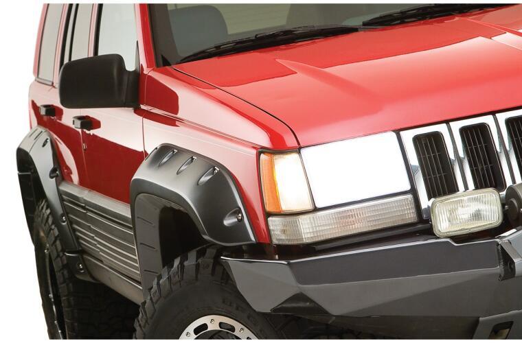 Bushwacker FF Jeep Cutout Style 4Pc | BWR10916-07