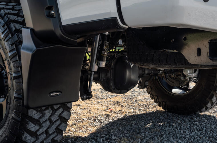 Trail Armor Mud Flaps - exclusive for Bushwacker Pocket Style Fender Flares