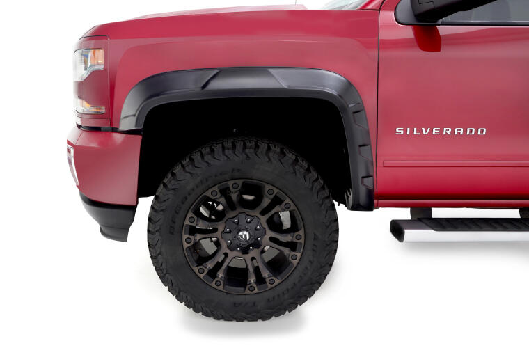 DRT STYLE FENDER FLARE - 2PC FRONT