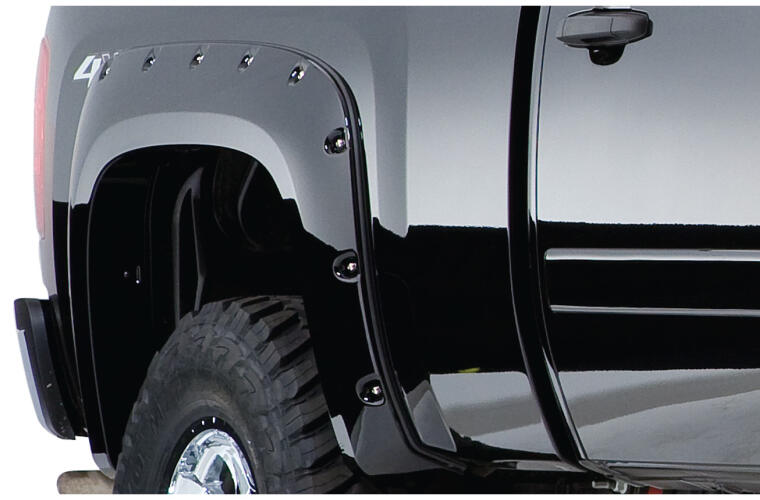 Fender Flares Cutout Style 2Pc Rear