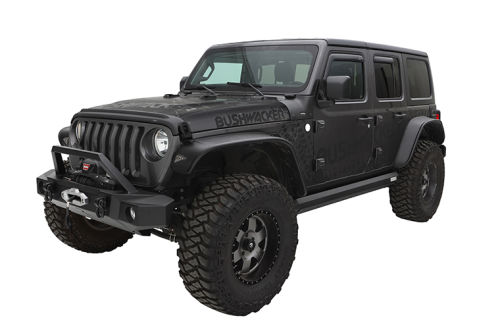 Jeep Flat Style Flares