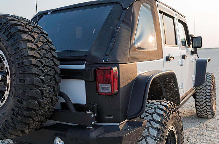 Jeep Trail Armor Front and Rear