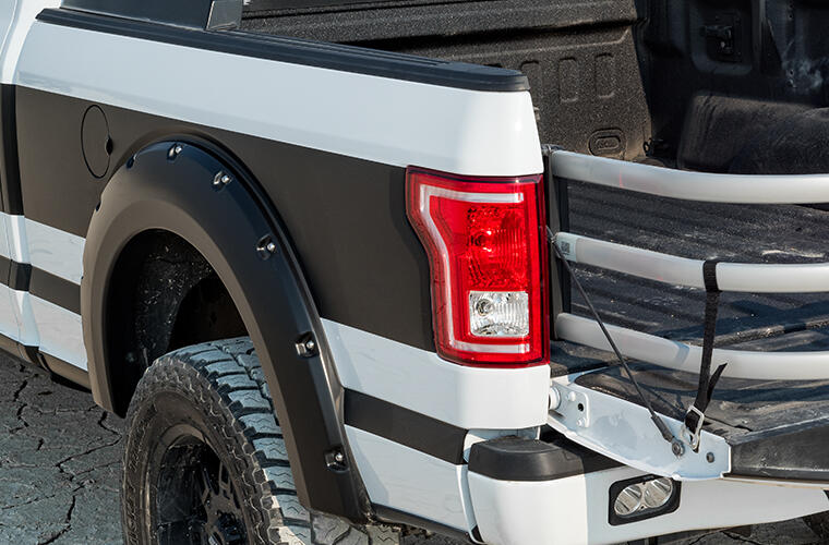 Bushwacker Pocket Style Color Matched Fender Flares