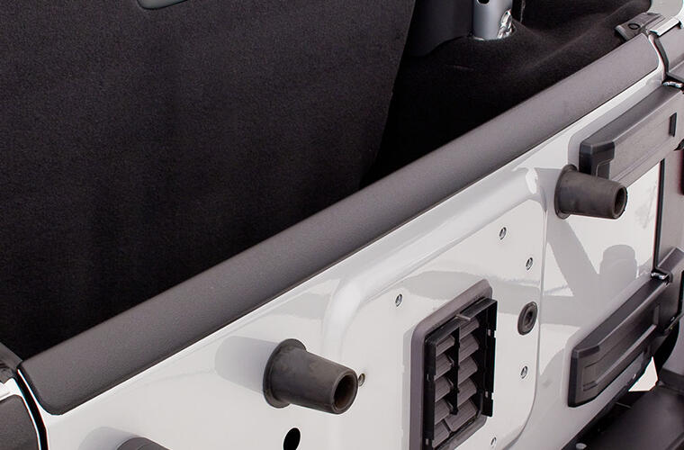 Jeep Trail Armor Hood and Tailgate Protector